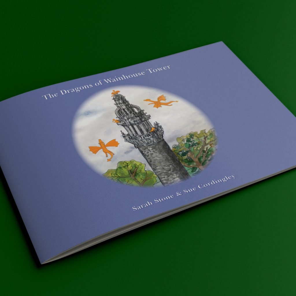 The Dragons of Wainhouse Tower children's book